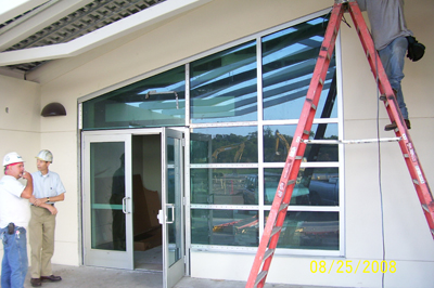 weber glass central florida commercial industrial glass